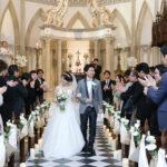 こだわりの装飾の中アットホームな結婚式
